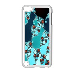 Decorative Fractal Background Apple Ipod Touch 5 Case (white) by Simbadda