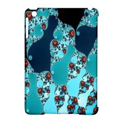 Decorative Fractal Background Apple Ipad Mini Hardshell Case (compatible With Smart Cover) by Simbadda