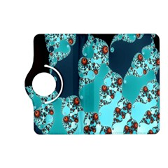 Decorative Fractal Background Kindle Fire Hd (2013) Flip 360 Case by Simbadda