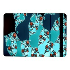 Decorative Fractal Background Samsung Galaxy Tab Pro 10 1  Flip Case by Simbadda