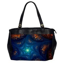Fractal Star Office Handbags by Simbadda