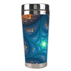 Fractal Star Stainless Steel Travel Tumblers by Simbadda