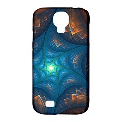 Fractal Star Samsung Galaxy S4 Classic Hardshell Case (pc+silicone) by Simbadda
