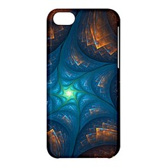 Fractal Star Apple Iphone 5c Hardshell Case
