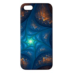Fractal Star Iphone 5s/ Se Premium Hardshell Case by Simbadda