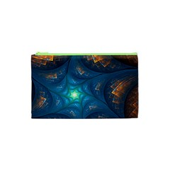 Fractal Star Cosmetic Bag (xs) by Simbadda