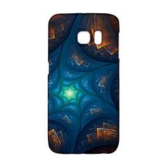 Fractal Star Galaxy S6 Edge by Simbadda