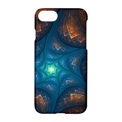 Fractal Star Apple Iphone 7 Hardshell Case