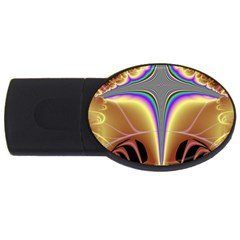 Symmetric Fractal Usb Flash Drive Oval (2 Gb) by Simbadda