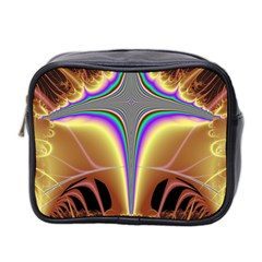 Symmetric Fractal Mini Toiletries Bag 2 Side by Simbadda