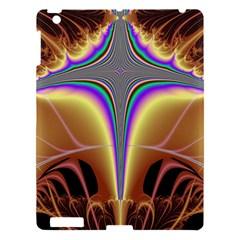 Symmetric Fractal Apple Ipad 3/4 Hardshell Case by Simbadda