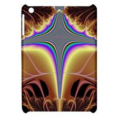 Symmetric Fractal Apple Ipad Mini Hardshell Case by Simbadda