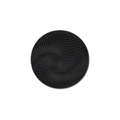 Distorted Net Pattern Golf Ball Marker by Simbadda