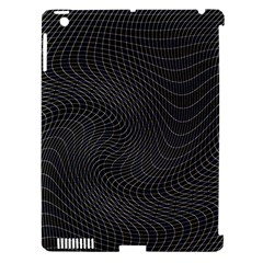 Distorted Net Pattern Apple Ipad 3/4 Hardshell Case (compatible With Smart Cover) by Simbadda