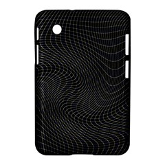 Distorted Net Pattern Samsung Galaxy Tab 2 (7 ) P3100 Hardshell Case  by Simbadda