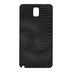 Distorted Net Pattern Samsung Galaxy Note 3 N9005 Hardshell Back Case by Simbadda