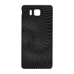 Distorted Net Pattern Samsung Galaxy Alpha Hardshell Back Case by Simbadda