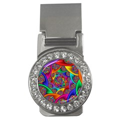 Color Spiral Money Clips (cz)  by Simbadda