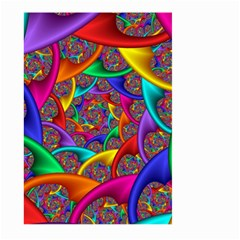 Color Spiral Large Garden Flag (two Sides) by Simbadda