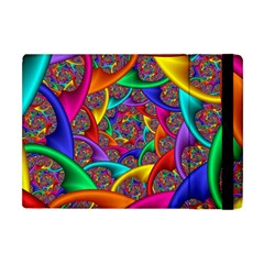 Color Spiral Apple Ipad Mini Flip Case by Simbadda