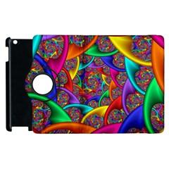 Color Spiral Apple Ipad 3/4 Flip 360 Case by Simbadda