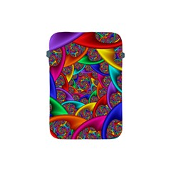 Color Spiral Apple Ipad Mini Protective Soft Cases by Simbadda