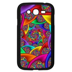 Color Spiral Samsung Galaxy Grand DUOS I9082 Case (Black)