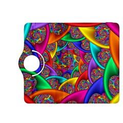 Color Spiral Kindle Fire Hdx 8 9  Flip 360 Case by Simbadda
