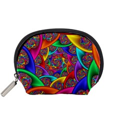 Color Spiral Accessory Pouches (small)  by Simbadda