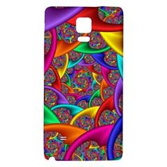 Color Spiral Galaxy Note 4 Back Case by Simbadda