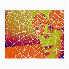 Orange Guy Spider Web Small Glasses Cloth (2 Side) by Simbadda