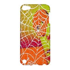 Orange Guy Spider Web Apple Ipod Touch 5 Hardshell Case by Simbadda