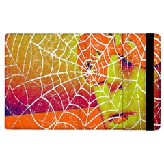 Orange Guy Spider Web Apple Ipad 3/4 Flip Case by Simbadda