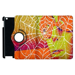 Orange Guy Spider Web Apple Ipad 2 Flip 360 Case by Simbadda