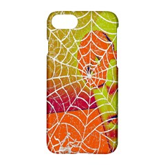 Orange Guy Spider Web Apple Iphone 7 Hardshell Case by Simbadda