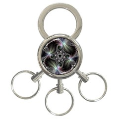 Beautiful Curves 3 Ring Key Chains by Simbadda