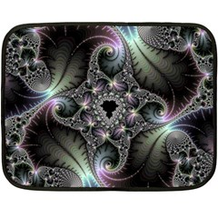 Beautiful Curves Fleece Blanket (mini) by Simbadda