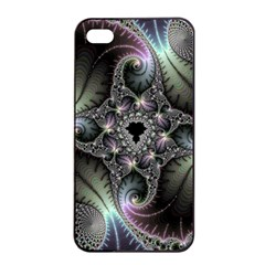 Beautiful Curves Apple Iphone 4/4s Seamless Case (black) by Simbadda