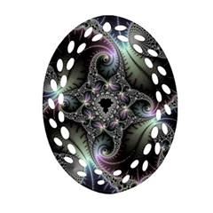 Beautiful Curves Ornament (oval Filigree) by Simbadda