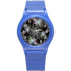 Beautiful Curves Round Plastic Sport Watch (s) by Simbadda
