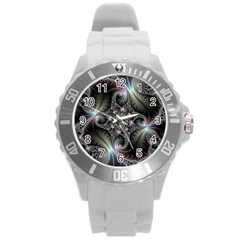 Beautiful Curves Round Plastic Sport Watch (l) by Simbadda