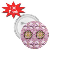 Floral Pattern Seamless Wallpaper 1 75  Buttons (100 Pack)  by Simbadda
