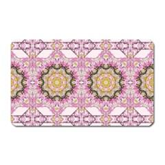 Floral Pattern Seamless Wallpaper Magnet (rectangular) by Simbadda