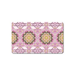 Floral Pattern Seamless Wallpaper Magnet (name Card) by Simbadda