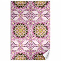 Floral Pattern Seamless Wallpaper Canvas 24  X 36  by Simbadda