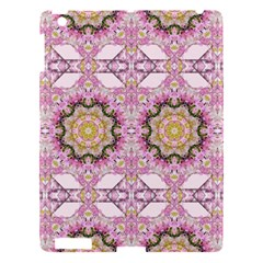 Floral Pattern Seamless Wallpaper Apple Ipad 3/4 Hardshell Case by Simbadda