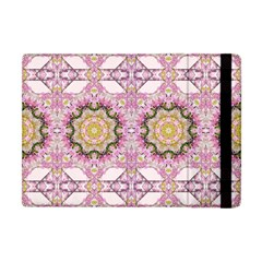 Floral Pattern Seamless Wallpaper Apple Ipad Mini Flip Case by Simbadda