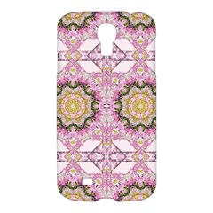 Floral Pattern Seamless Wallpaper Samsung Galaxy S4 I9500/i9505 Hardshell Case by Simbadda