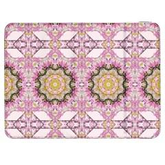 Floral Pattern Seamless Wallpaper Samsung Galaxy Tab 7  P1000 Flip Case by Simbadda