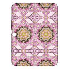 Floral Pattern Seamless Wallpaper Samsung Galaxy Tab 3 (10 1 ) P5200 Hardshell Case  by Simbadda